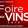image de Sélection Foire aux vins Auchan 2013