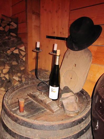 Dégustation vin Clement Klur